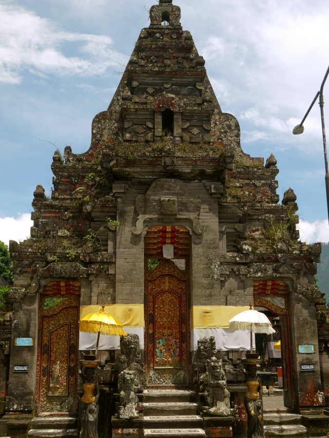 within the Bratan temple premises
