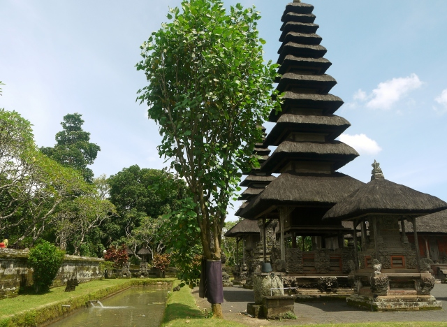 tiered-roof temples