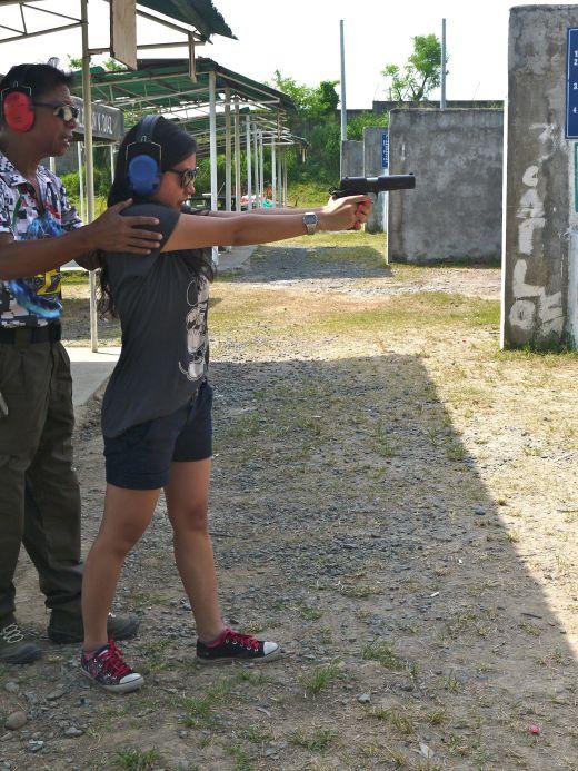 firing stance