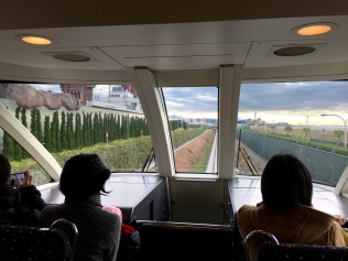 inside the Disney train