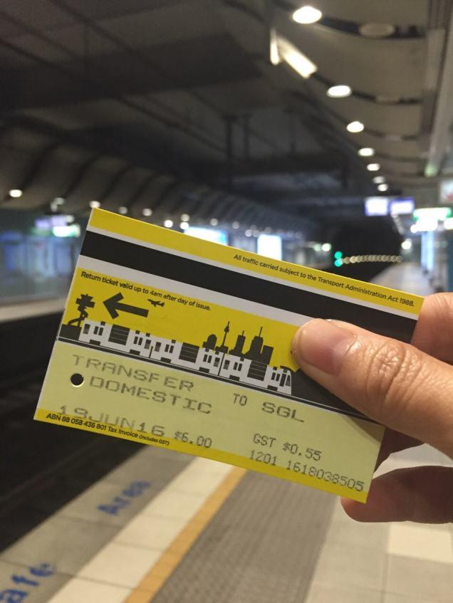 Transfer Link Ticket