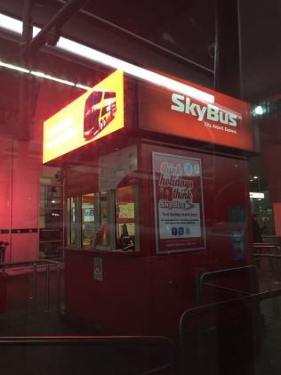 Skybus Booth