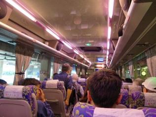 inside bus 6670