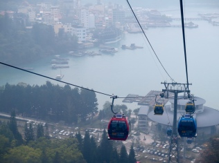 the lake view from the ropeway